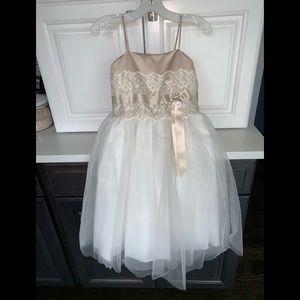 Child's size 3 flower girl dress